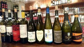 豊富なワインとグラスワイン達
