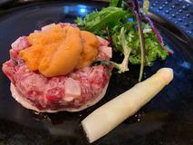 生ウニ・ホワイトアスパラ・オマール海老 春の極上美食コース始まります!